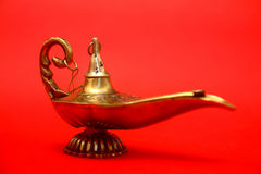Magic Genie Lamp Stock Image