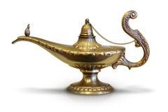 Magic Genie Lamp Royalty Free Stock Image
