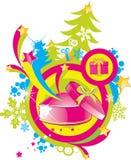Magic gift box Stock Image