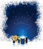 Magic Gift box Royalty Free Stock Image