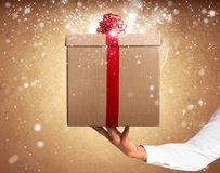 Magic gift Royalty Free Stock Photo