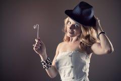 Magic Girl stock image