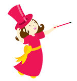 The Magic Girl 3 Royalty Free Stock Image