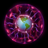 Magic Globe Royalty Free Stock Image