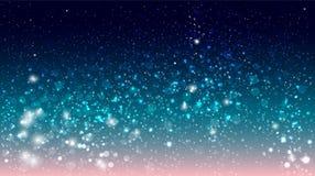 Magic glow and bokeh Stock Photos