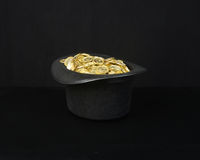 Magic Gold Royalty Free Stock Photo