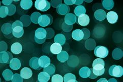 Magic green dots Stock Image