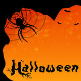 Magic Halloween background Royalty Free Stock Images