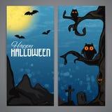 Magic Halloween flayer Royalty Free Stock Photo