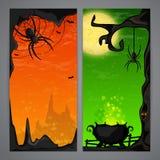 Magic Halloween flayer Stock Photo