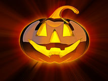 Magic Halloween lantern Royalty Free Stock Photos