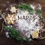 Magic happy new year Royalty Free Stock Images