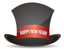 Magic happy new year hat Stock Photos