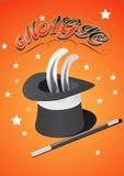 Magic Hat royalty free illustration