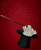 Magic Hat. Kind of entertainment Magic Hat Royalty Free Stock Photo