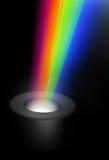Magic hat with rainbow Stock Photos