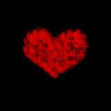 Magic heart abstract background Stock Photography