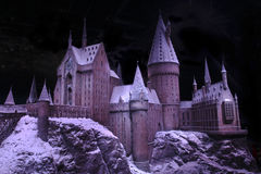The magic of Hogwarts castle Stock Image