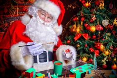 Magic holiday atmosphere Royalty Free Stock Images