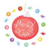 Magic holiday decorations Stock Image
