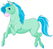 Magic Horse. Illustration of magic beautiful magic horse Stock Image