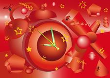 Magic hours vector illustration