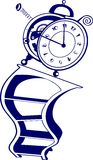 Magic hours Stock Image