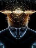 Magic of Human Mind royalty free illustration
