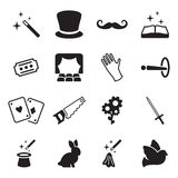 Magic Icons Stock Photos