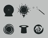 Magic Icons Stock Image