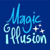 Magic illusion sign Stock Photos