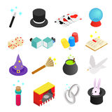 Magic isometric 3d icon Royalty Free Stock Images
