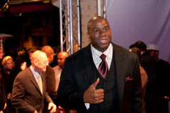 Magic Johnson Fotos de Stock
