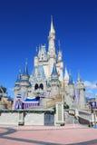 Magic Kingdom castle in Disney World in Orlando stock photo