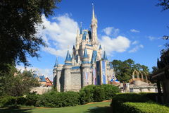 Magic Kingdom castle in Disney World in Orlando Royalty Free Stock Image