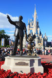 Magic Kingdom castle in Disney World in Orlando Stock Image