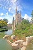 Magic Kingdom Castle Stock Photo