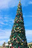 Magic Kingdom Christmas Tree Stock Photography