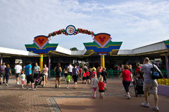 Magic Kingdom Entrance Stock Photos
