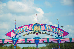 Magic Kingdom Entrance Royalty Free Stock Images
