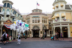 The Magic Kingdom, Orlando, FL. Royalty Free Stock Photo