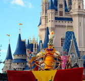 Magic Kingdom Parade Castle Stock Images