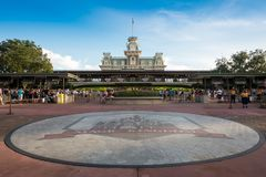 Magic Kingdom Theme Park Stock Images