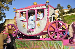 Magic Kings Parade, pink horse stock images