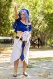 Magic Knight Rayearth Ryuuzaki Umi Cosplay Stock Photo