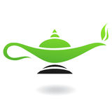 Magic lamp vector illustration