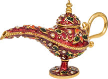 Magic Lamp Stock Photography