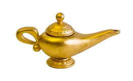 Magic lamp Stock Photo