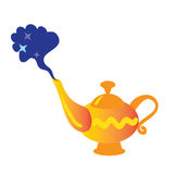 Magic lamp vector illustration Stock Photography