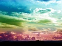 Magic landscape stock photography